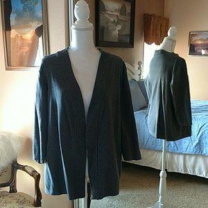 Spring Mercer XL gray cardigan